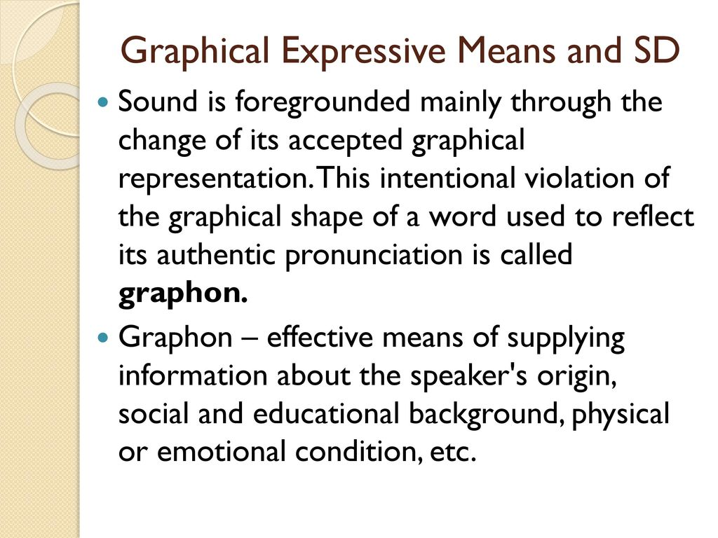 Figurative and expressive means of the language: a list with the name and description, examples 50