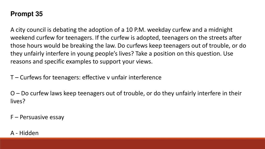 do curfews keep teens out of trouble