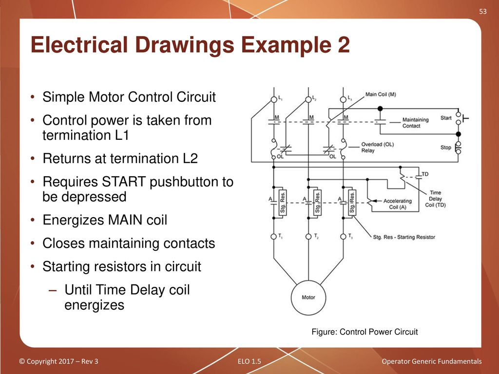 Operator Generic Fundamentals Ppt Download Time Delay Circuit Diagram 51 Electrical Drawings Example 1 K2