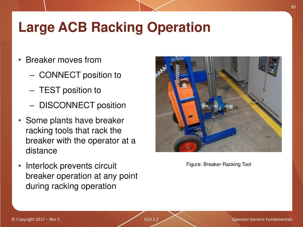 Operator Generic Fundamentals Ppt Download Circuit Breaker Logic In Power Plant Racking Breakers 91 Large Acb Operation