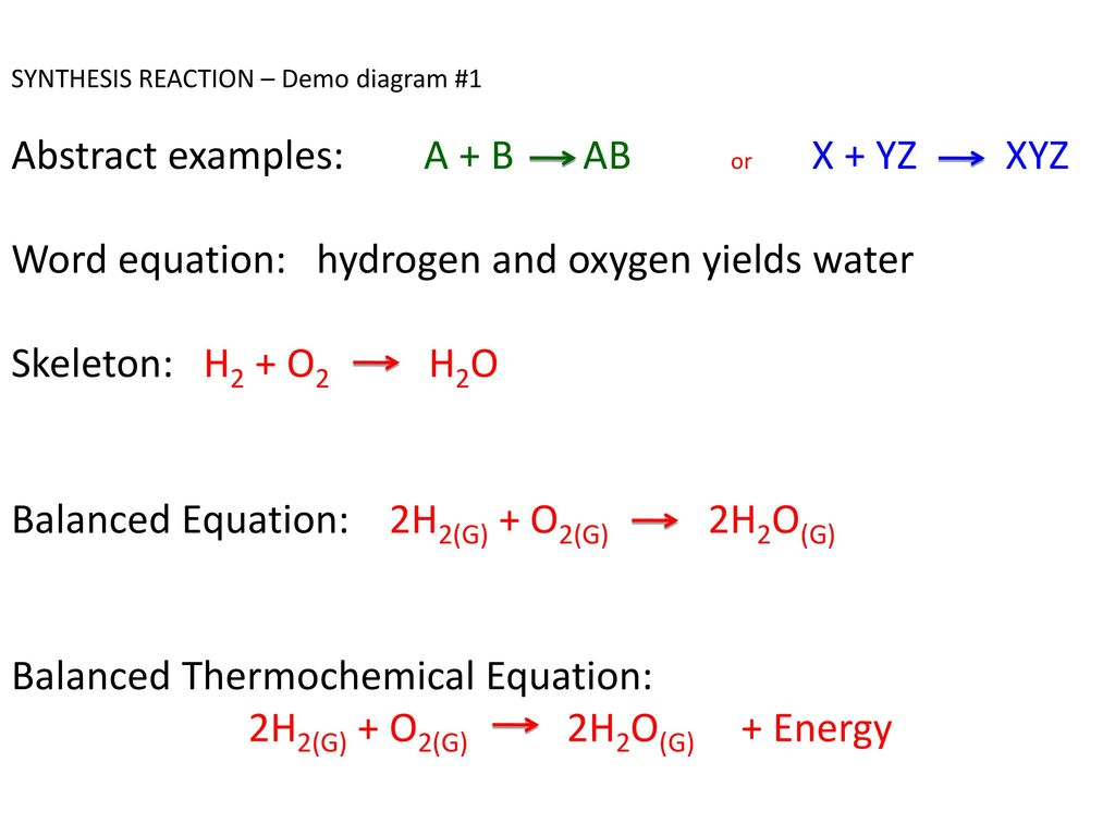 ob: intro to 5 chemical reactions (5) - ppt download