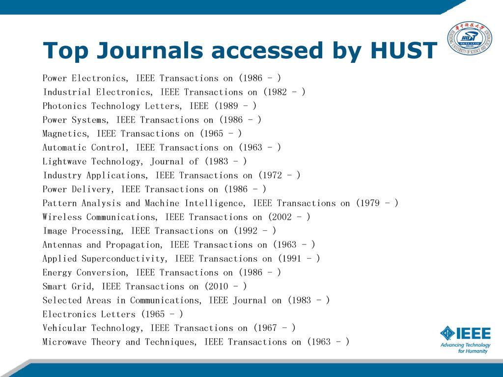 探索IEEE IEL数据库:科研检索和学术投稿 - ppt download