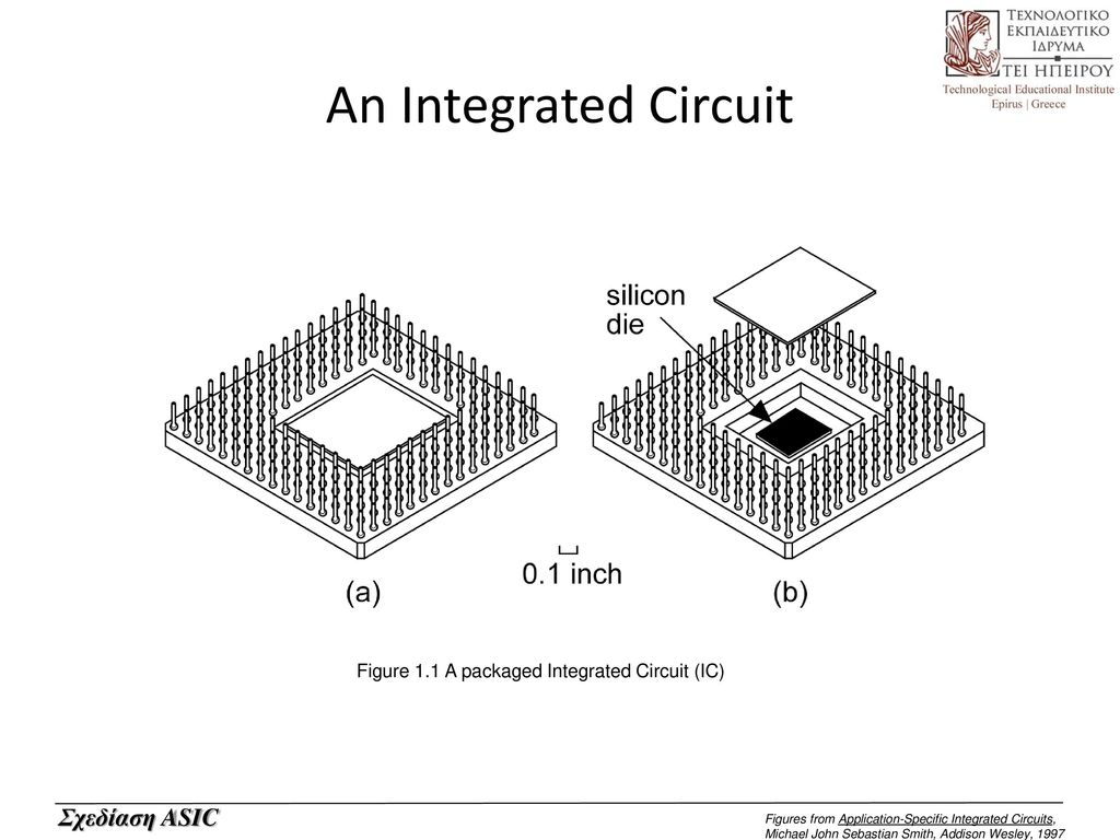 Introduction To Asics Asic Application Specific Integrated Circuit Ic 2 An Figure 11 A Packaged