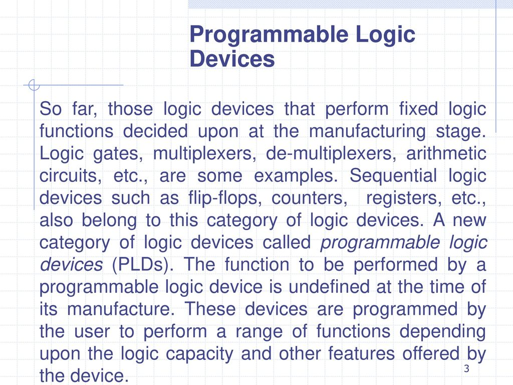 Programmable Logic Devices Ppt Download Gate Circuit Analyzer