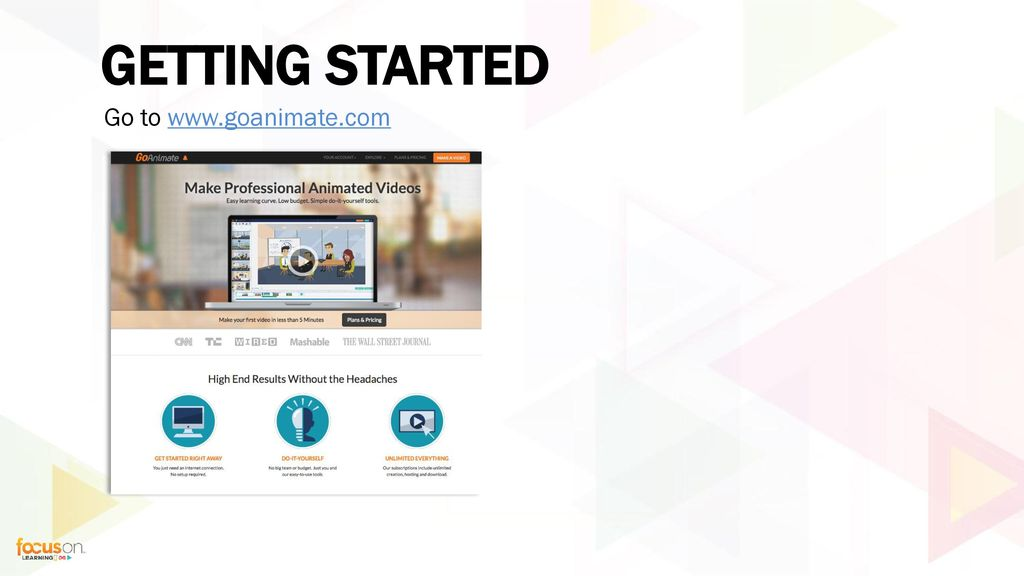 session 8364 creating microlearning videos with goanimate ppt