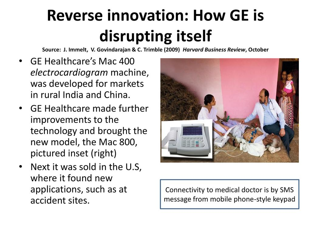 how ge is disrupting itself