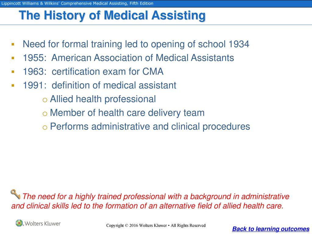 Medicine And Medical Assisting Ppt Download
