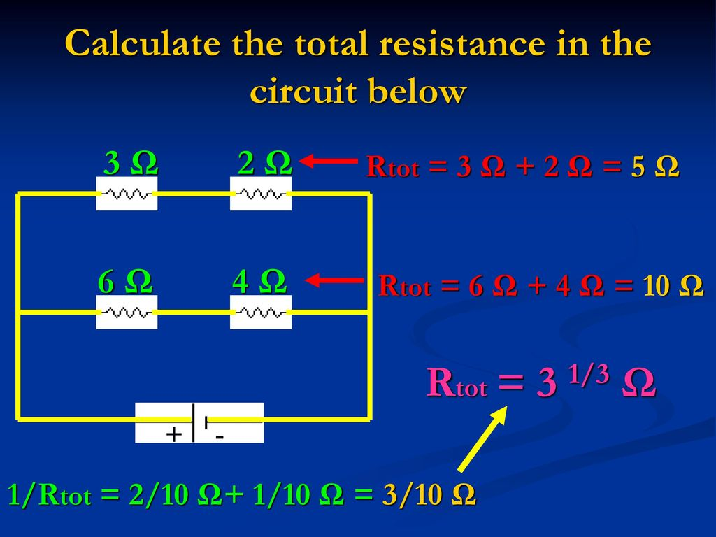 Resistors In Series And Parallel Circuits Ppt Download How Does Someone Calculate The Total Resistance Of Such A Circuit Below