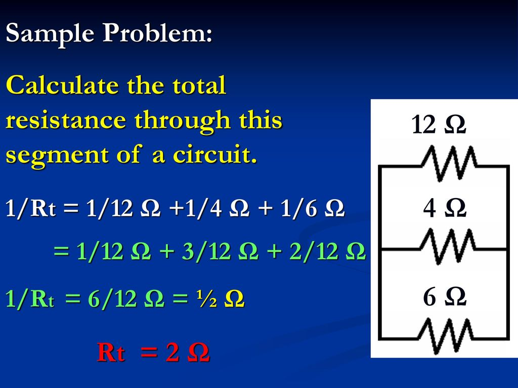Resistors In Series And Parallel Circuits Ppt Download How Does Someone Calculate The Total Resistance Of Such A Circuit 9 Through This Segment