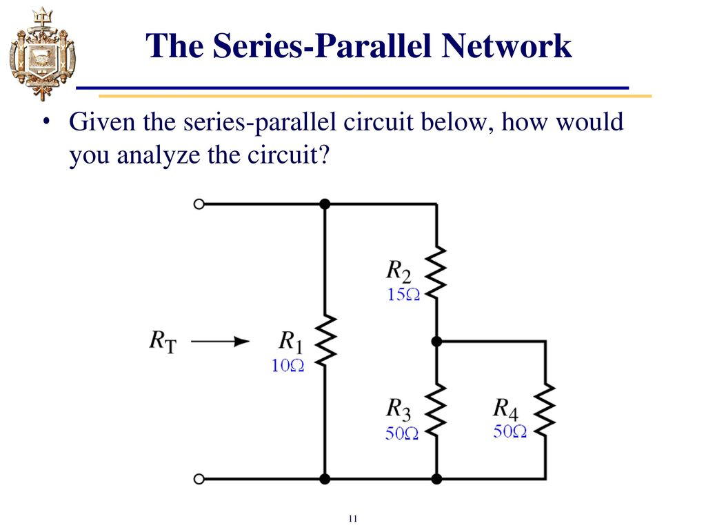 Lesson 6 Series Parallel Dc Circuits Ppt Video Online Download Circuit Picture The Network