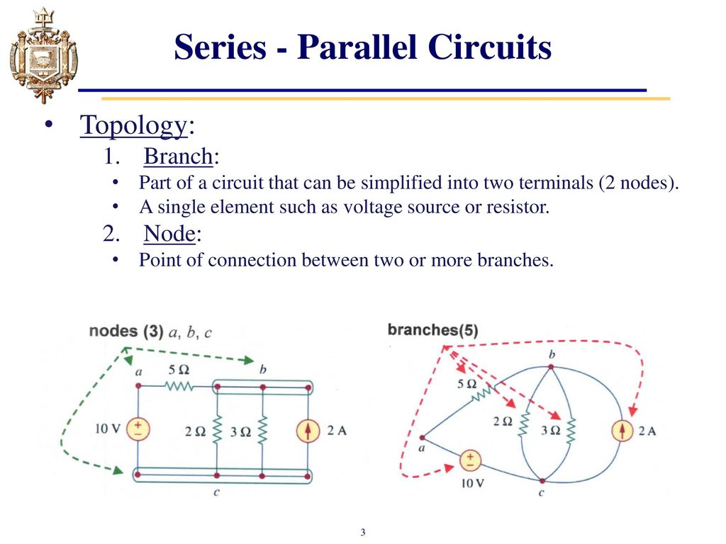 Lesson 6 Series Parallel Dc Circuits Ppt Video Online Download Voltage In A Circuit Topology Branch Part Of That Can Be Simplified Into Two Terminals 2 Nodes Single Element Such As Source Or Resistor