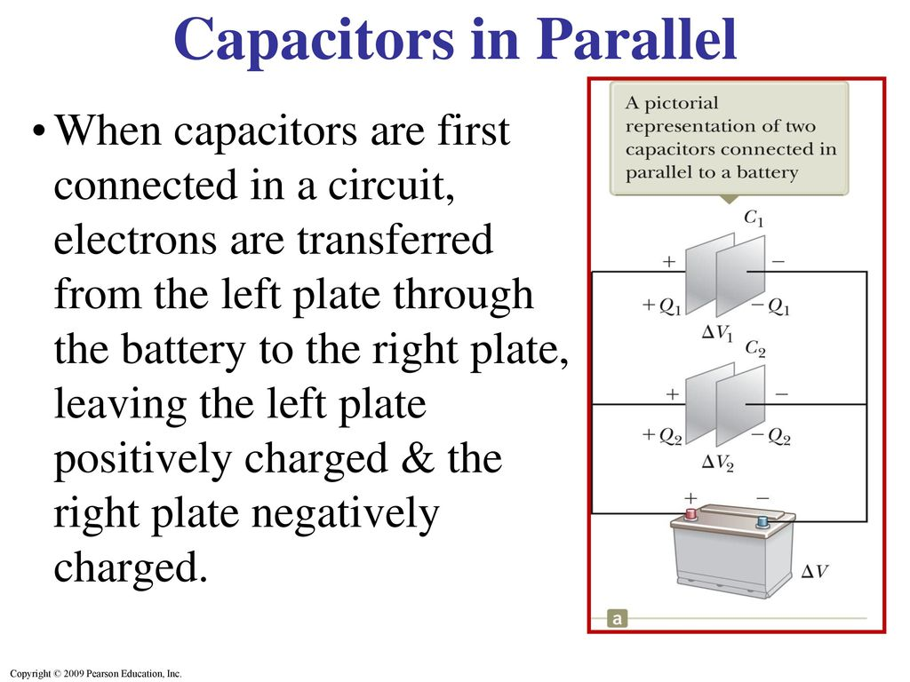 Capacitors In Series Parallel Ppt Download Circuit With And A Battery