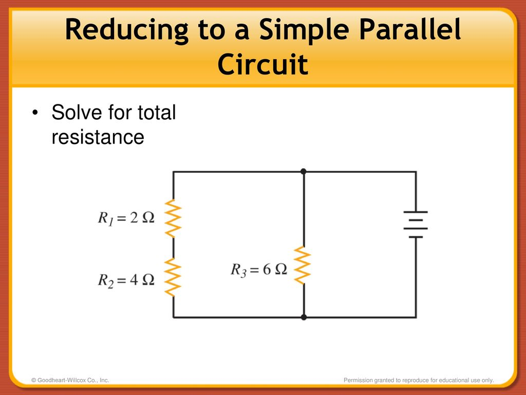Combination Circuits Series Parallel Ppt Download Circuit Picture Reducing To A Simple