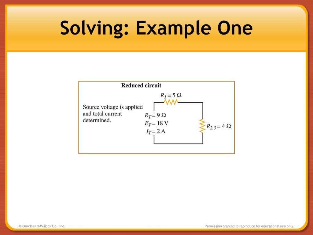 Combination Circuits Series Parallel Ppt Download Part 5 Solving For Current Voltage And Values 15