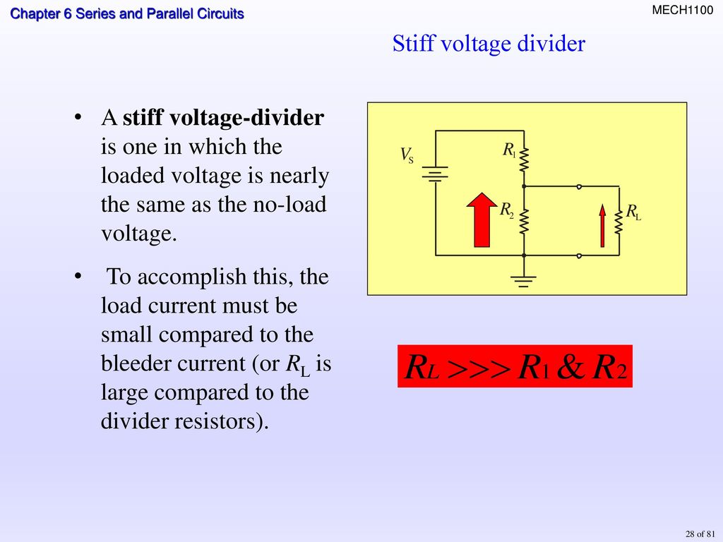 Topics Identifying Series Parallel Relationships Ppt Download Formula For And Circuits 27 Loaded Voltage Divider