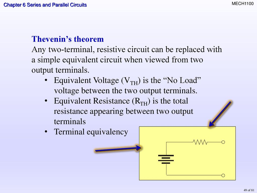 Topics Identifying Series Parallel Relationships Ppt Download Circuit Voltage Drop Calculator Using The Thermistor Chart What Is Vout When Temperature 50o C