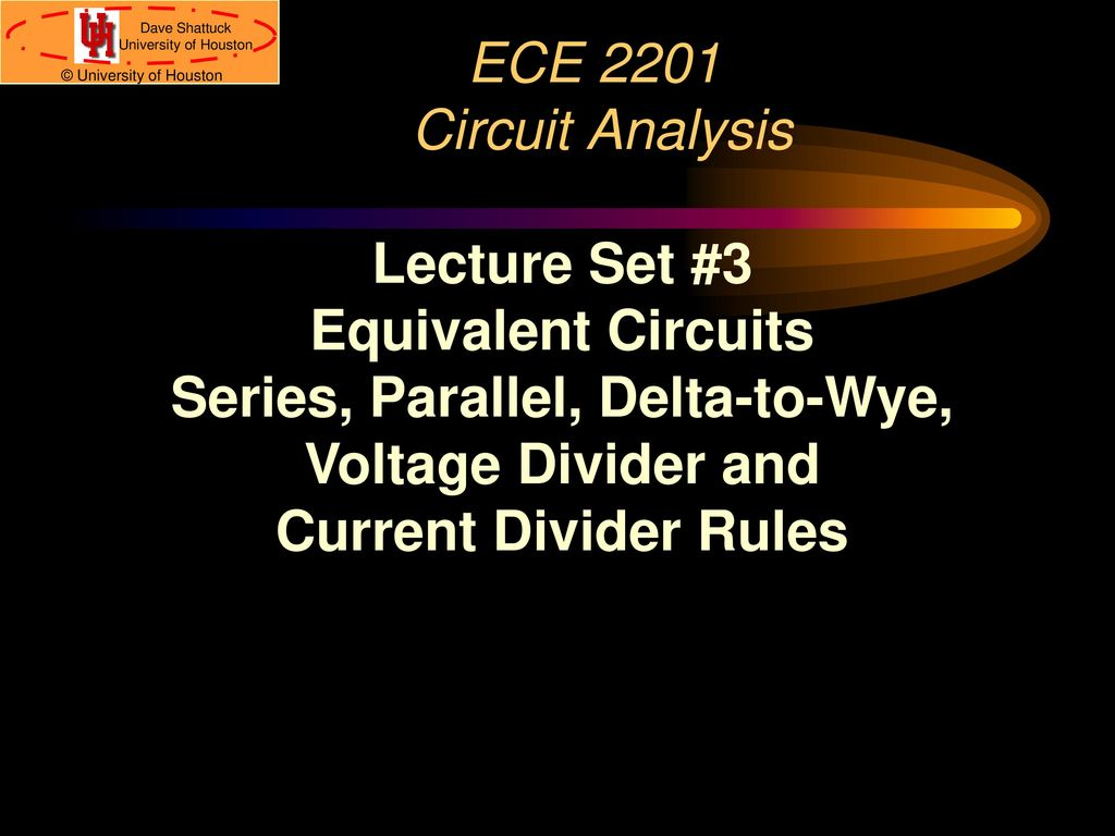 Series, Parallel, Delta-to-Wye, - ppt download