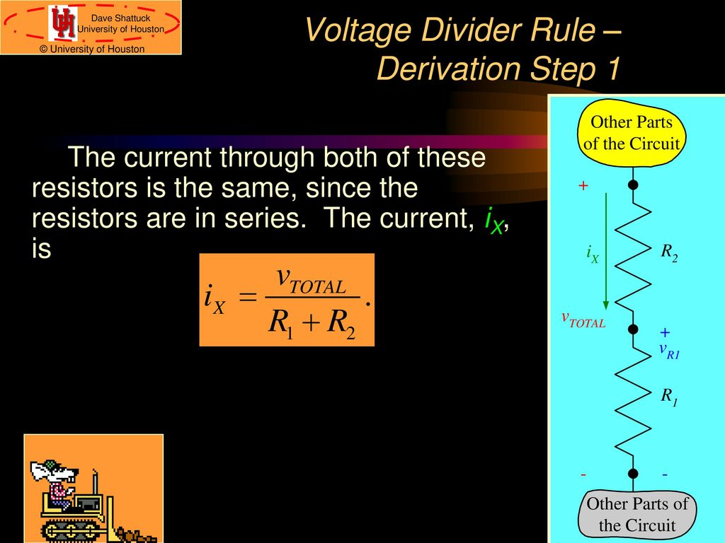 Series Parallel Delta To Wye Ppt Download Resistors Simple Voltage Divider Question Electrical Engineering Rule Derivation Step 1