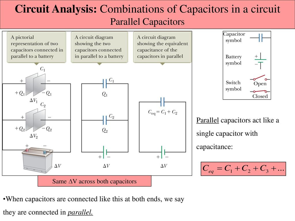 Chapter 26 Capacitance And Dielectrics Ppt Download Capacitor Circuit Simplification 7