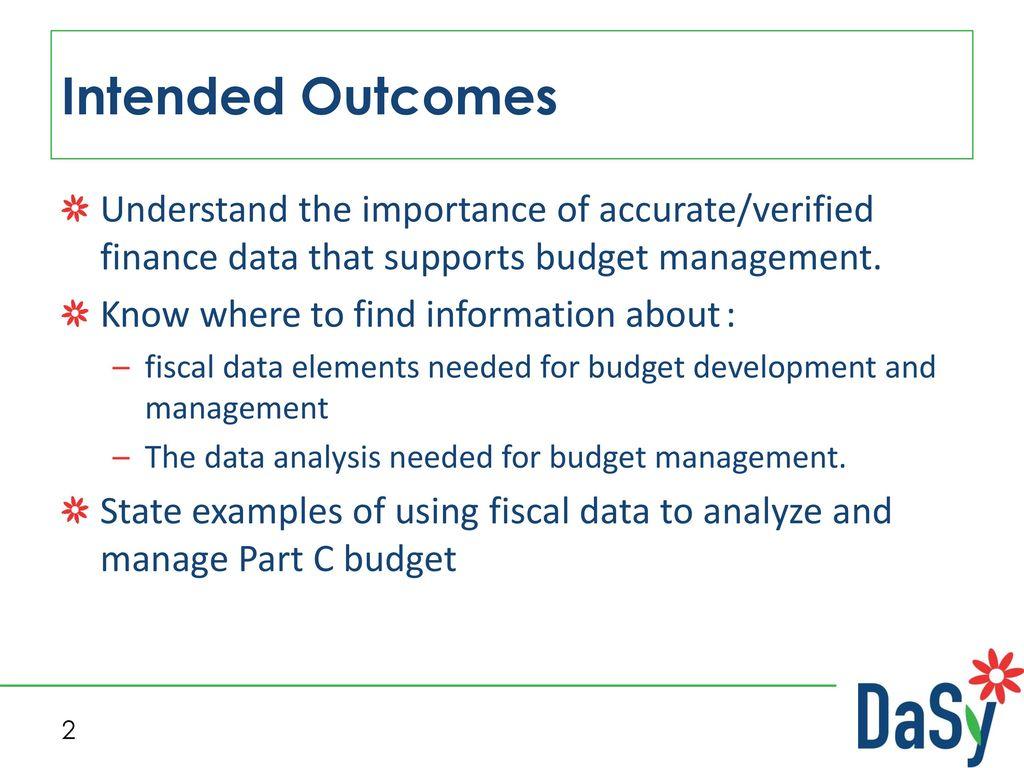 budget management analysis