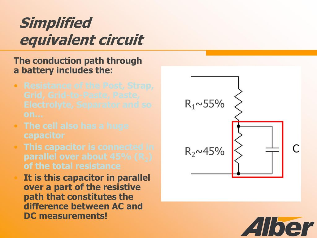 By Simplifying The Circuit With Equivalent Ac We Get Battery Monitoring Why What How Diebold Power Solutions Llc Simplified