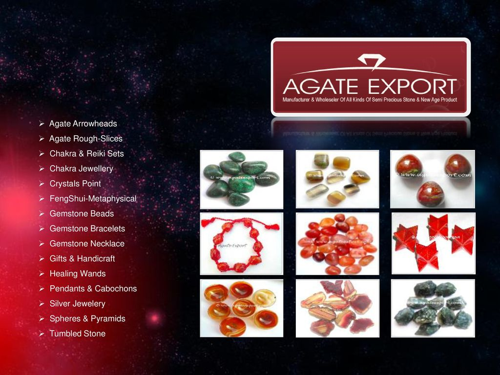 We present ourselves Agate Export & Natural Agate as the leading
