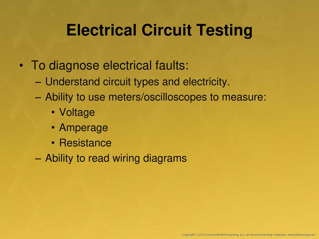 Using A Multimeter Test Light And Other Equipment Ppt Download How To Understand Electrical Circuit Diagrams Learn About Testing