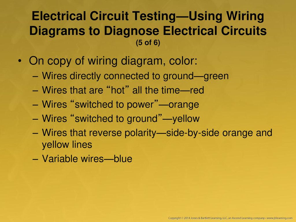 Using A Multimeter Test Light And Other Equipment Ppt Download Electrical Wiring Basics Red Wire 92