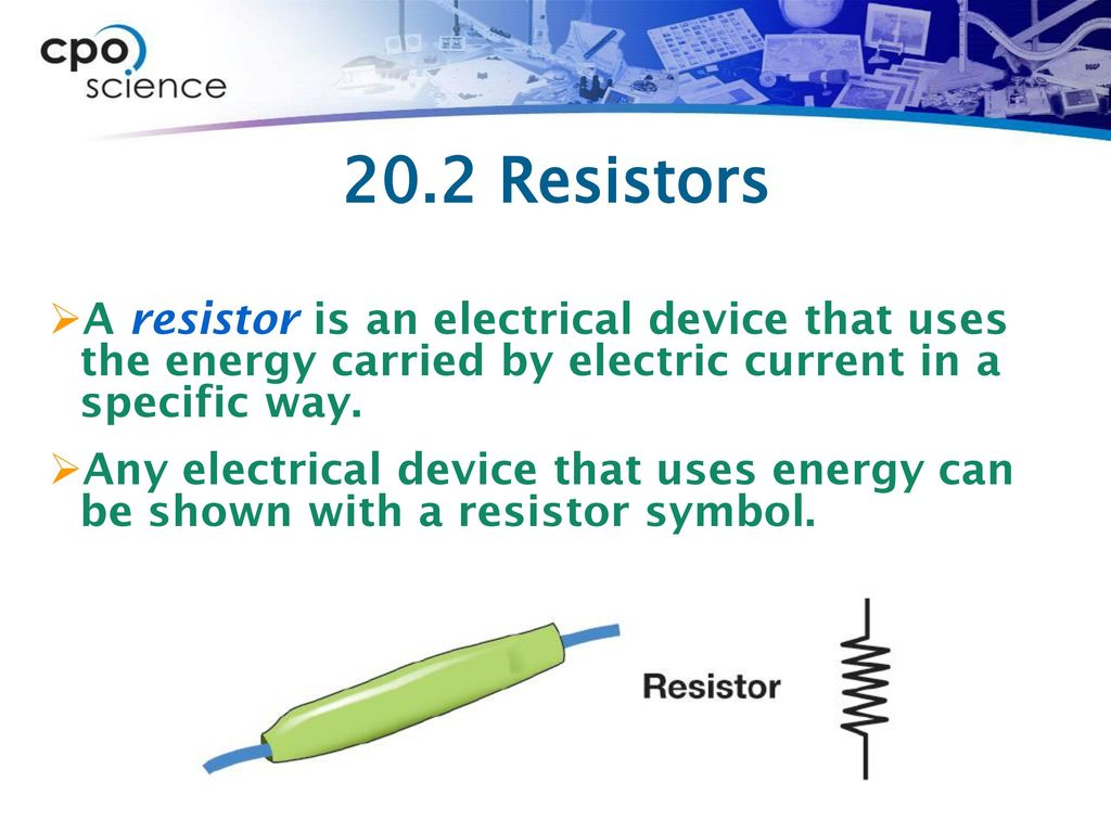 Chapter Twenty: Electric Circuits - ppt download