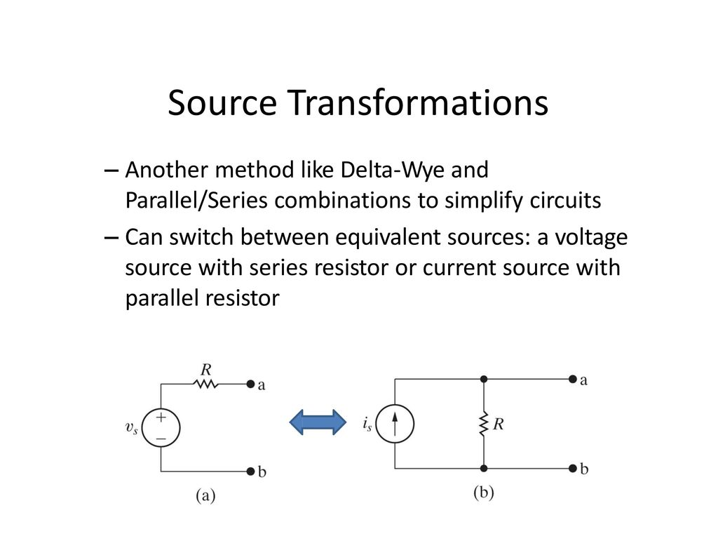 Fe Review Basic Circuits Ppt Download In Parallel And Series 37 Source Transformations