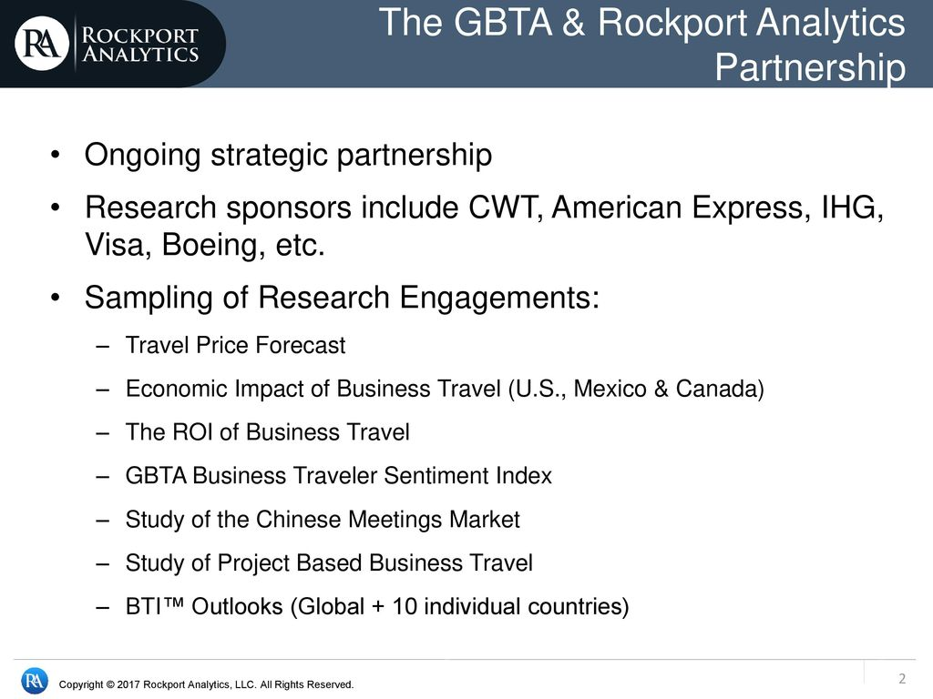 GBTA BTI™ Outlook for Global & U S  Business Travel - ppt video