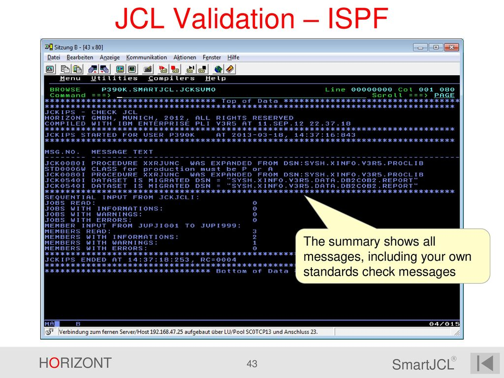 The Complete JCL Solution - ppt download