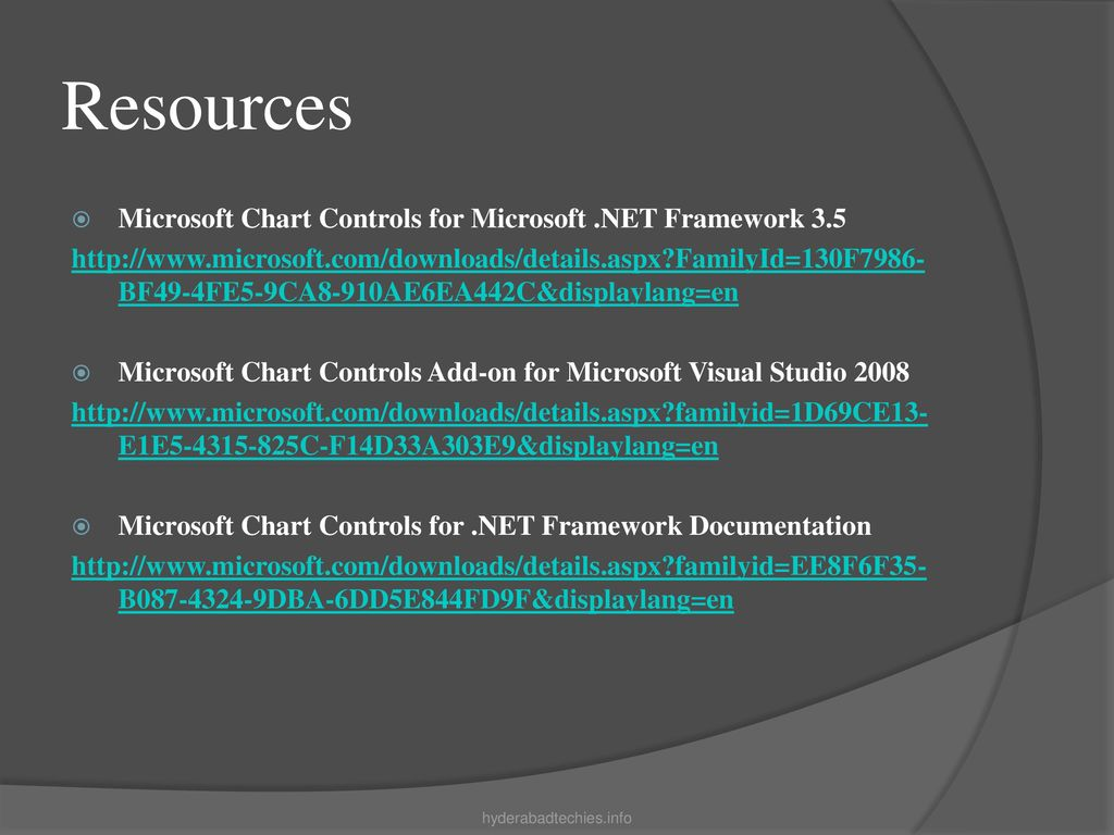 Microsoft Chart Control - ppt download