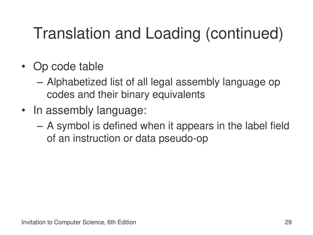 Invitation to computer science 6th edition ppt download 29 translation stopboris Image collections