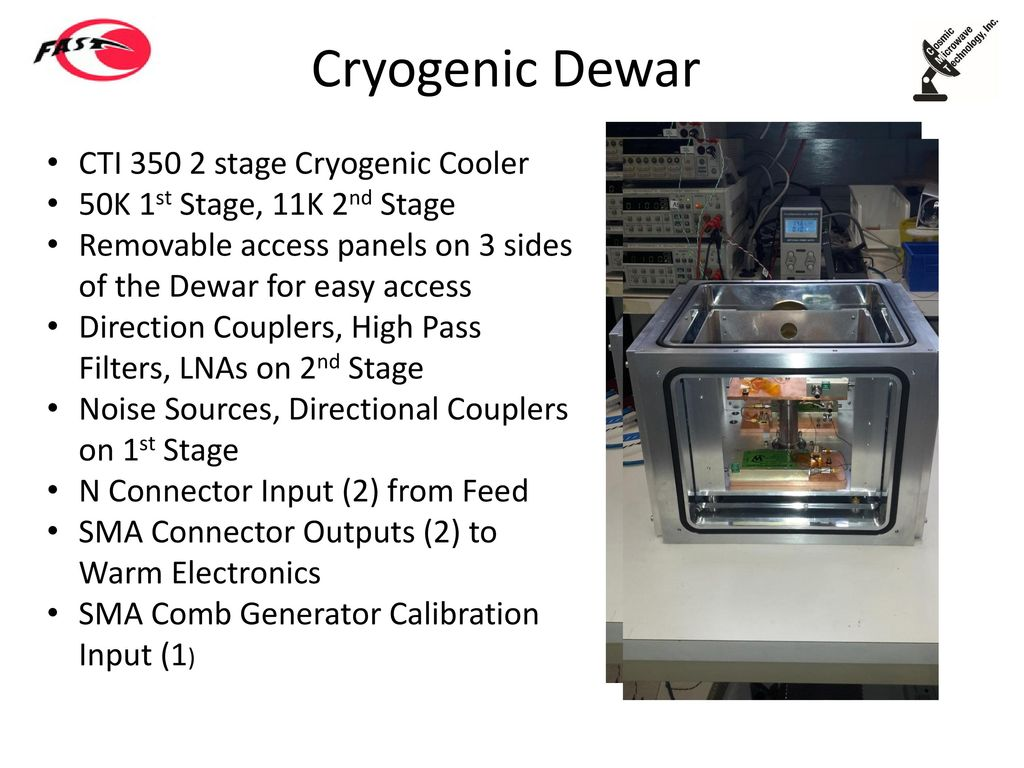Cosmic Microwave Technology, Inc  - ppt download