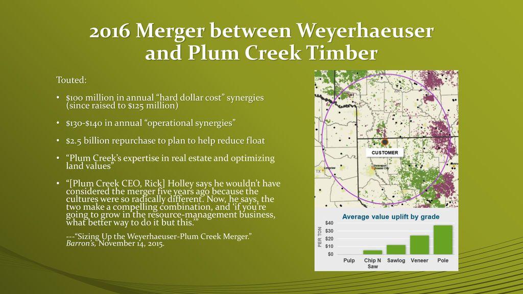 Weyerhaeuser Company April 14, ppt download