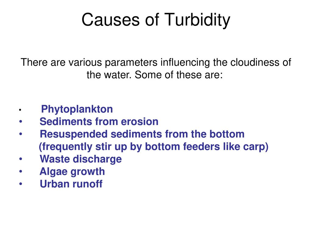 Water Quality Testing  - ppt download