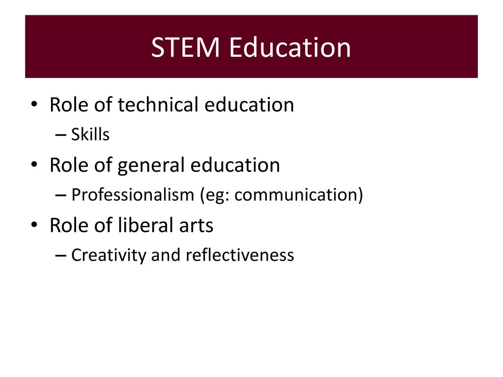 liberal arts vs technical education