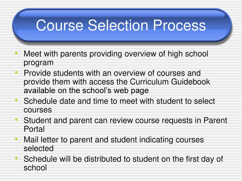 PURPOSE Provide an overview of courses offered - ppt download