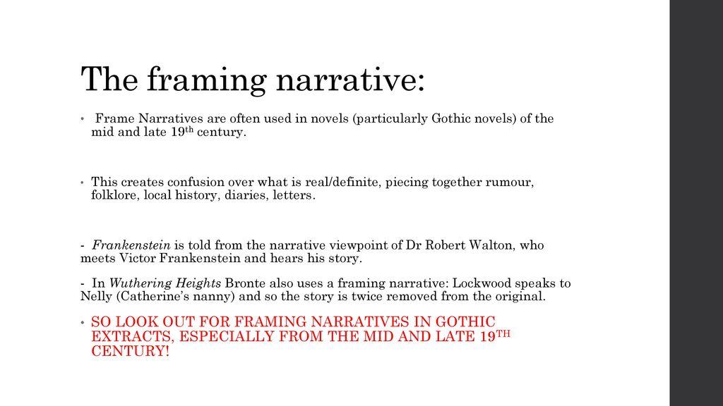 gothic extracts