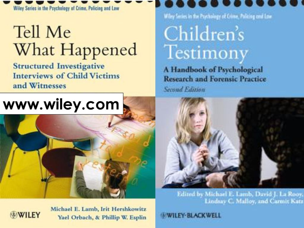 Overview of Best Practices in Child Forensic Interviewing - ppt download