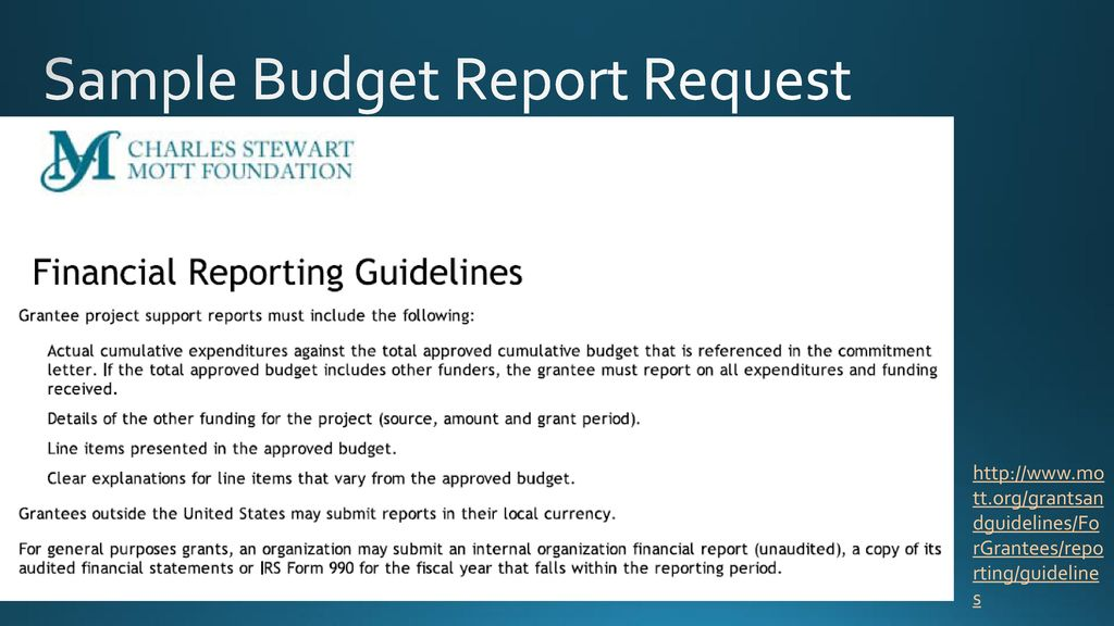 grant budget development ppt download