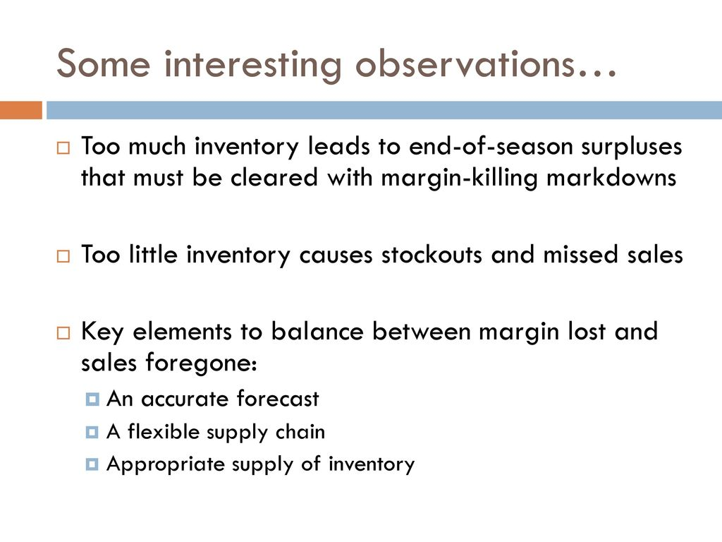 What is inventory It is interesting 21