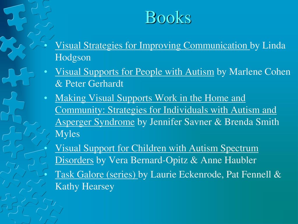 eds500 chapter 9 learners with asd Meeting the needs of learners with autism spectrum disorders: universal design for learning in k boser, m goodwin, & sc wayland (eds), learning technologies for people with autism and related conditions: a research-based guide for teachers, parents.