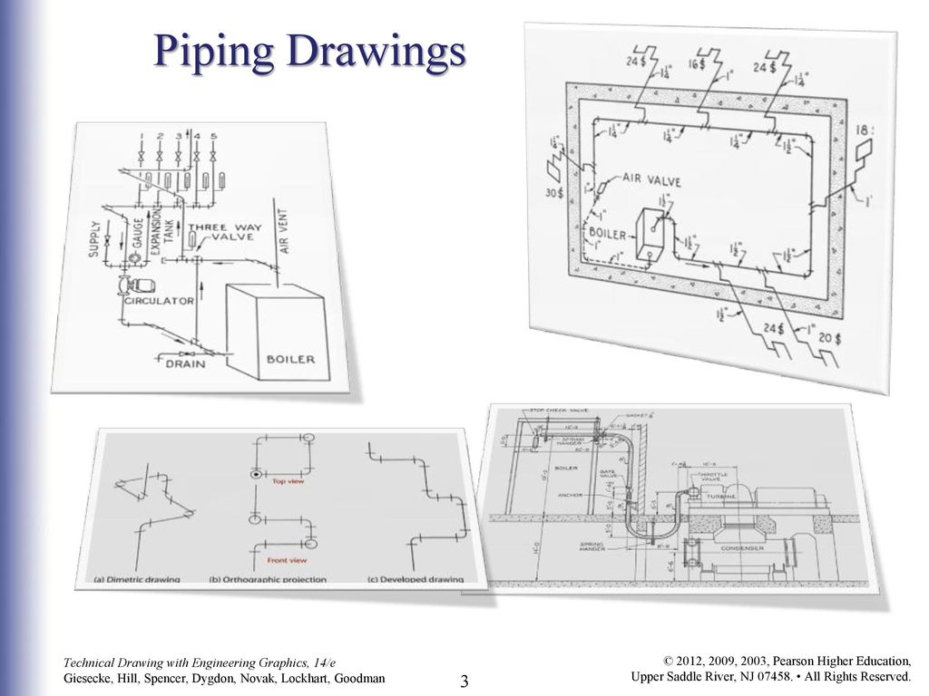 Piping Drawings C H A P T E R W N Y O Ppt Download Line Diagram 3