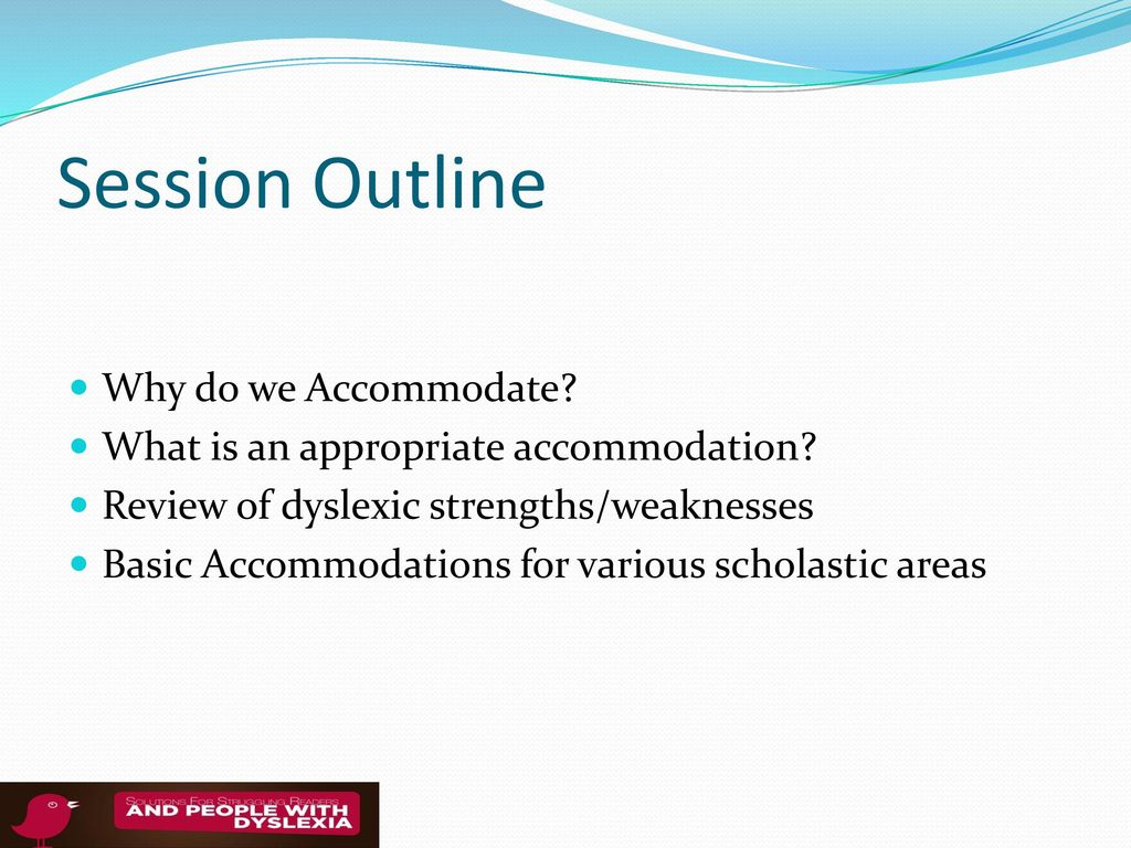 Classroom Accommodations For Dyslexia - ppt download