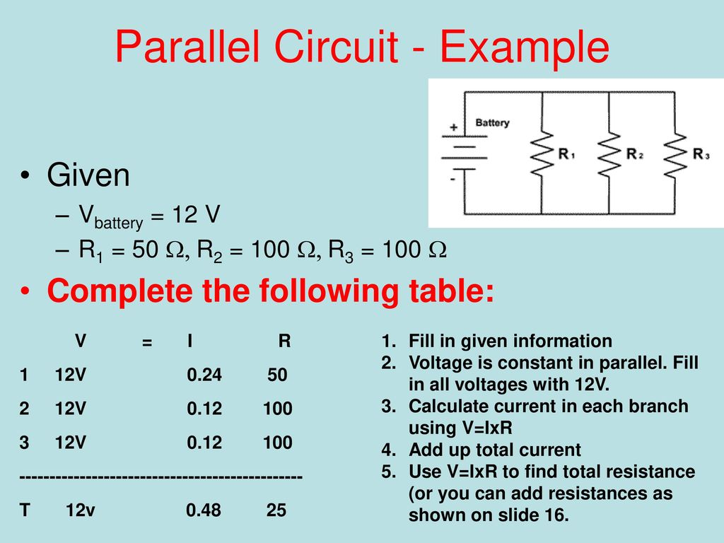 Series And Parallel How We Wire The World Ppt Download Circuit Picture Example