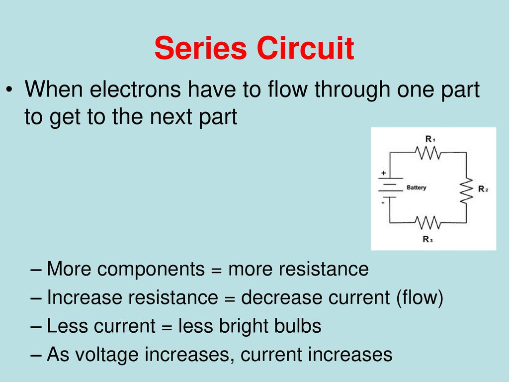 Series and Parallel How we wire the world. - ppt download