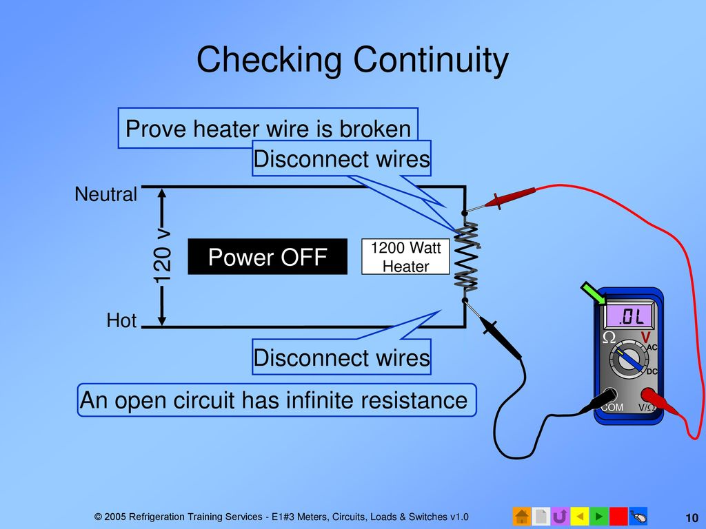 E1 Electrical Fundamentals Ppt Download Wiring A 120v Baseboard Heater Prove Wire Is Broken