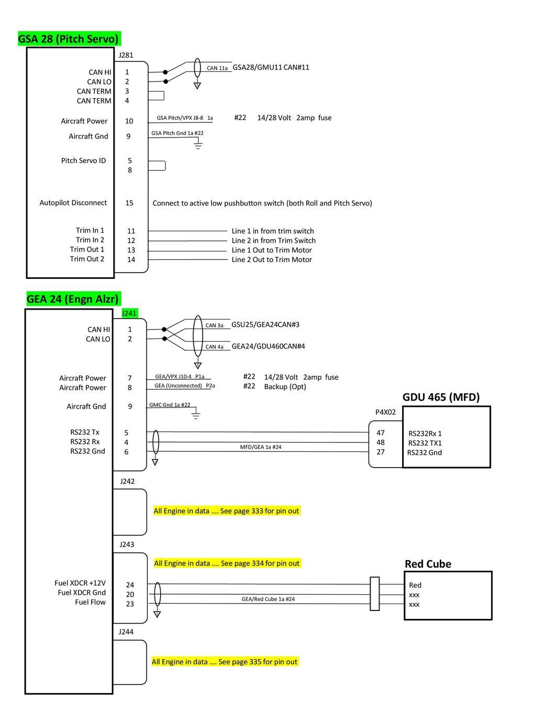 Can Bus Order Gsa38gad29gsu25gea24gdu460g5gdu465gi260. Gsa 28 Pitch Servo Gea 24 Engn Alzr Gdu 465 Mfd. Wiring. Gea Pwer Switch Wiring Diagram For Slide Out At Scoala.co